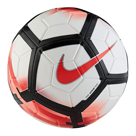 6d745c8bbab Amazon.com : Nike Strike Soccer Ball (Red/White) (3) : Sports & Outdoors