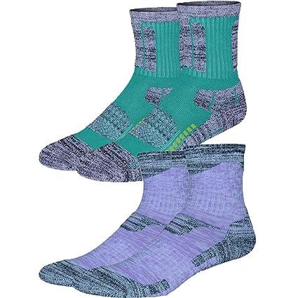 b1da87a668 Uniprime women cotton socks outdoor crew socks Hiking Socks Cushioned size  9-11 Winter Outdoor
