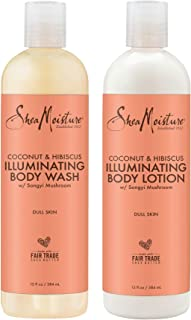 product image for SheaMoisture Coconut & Hibiscus Body Wash & Deep Moisturizing Lotion - Includes 13 oz. Body Wash & 13 oz. Body Lotion