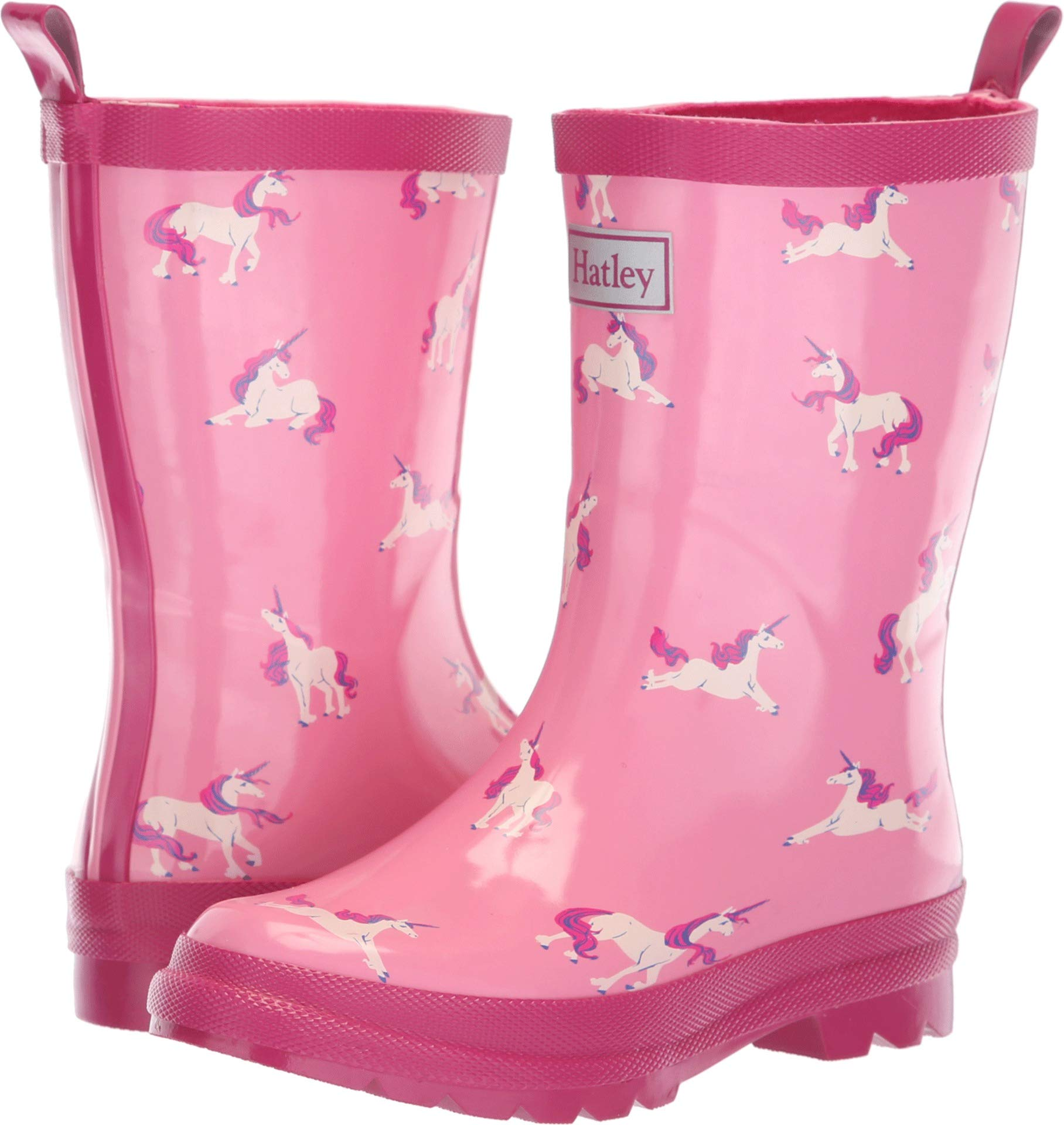Hatley Kids Baby Girl's Limited Edition Rain Boots (Toddler/Little Kid) Majestic Unicorns Pink 4 M US Toddler M