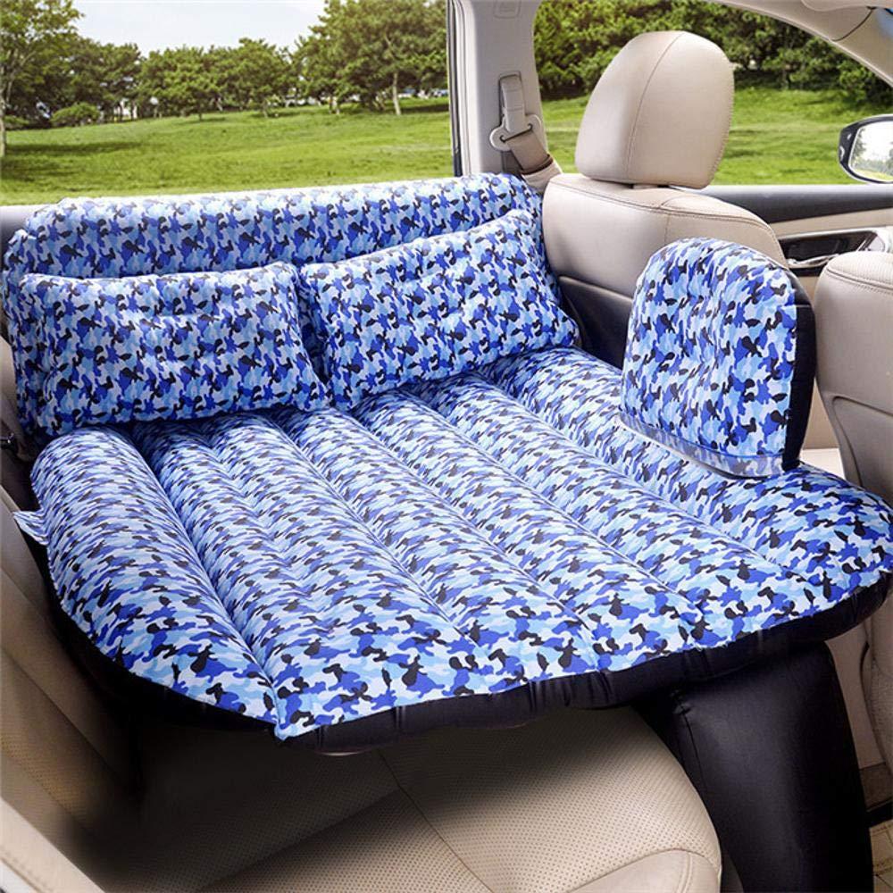 DuDuDu Auto-Luftmatratze sitzen aufgeteilt Auto aufblasbares Bett Auto Reise Bett im Auto der Kinder