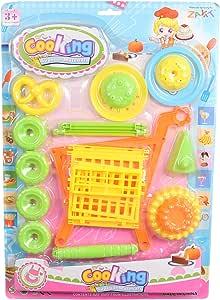 لعبة عربة التسوق للبنات من زيات W2018-29 - متعددة الالوان