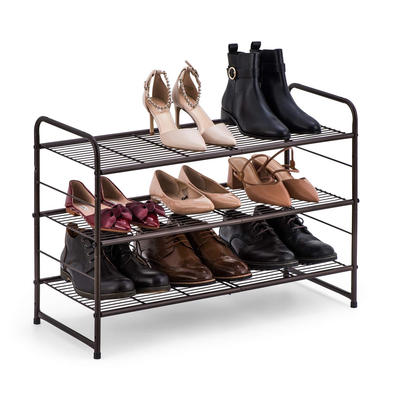 可根据鞋子数量叠加的鞋架