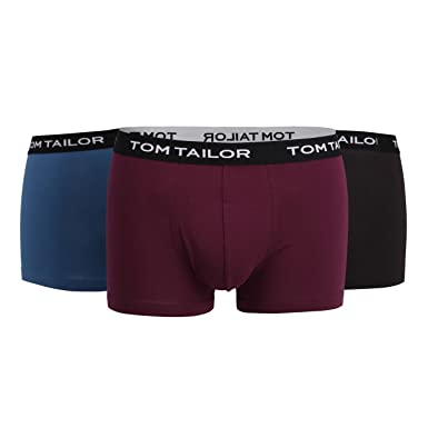 TOM TAILOR Herren Retroshorts, 3er Pack  Tom Tailor  Amazon.de  Bekleidung 9d239530a8