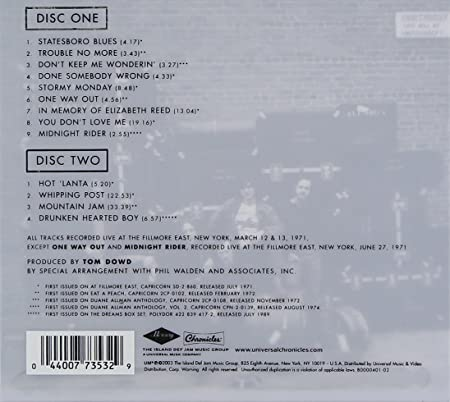 At Fillmore East (Deluxe Edition): Amazon.co.uk: Music