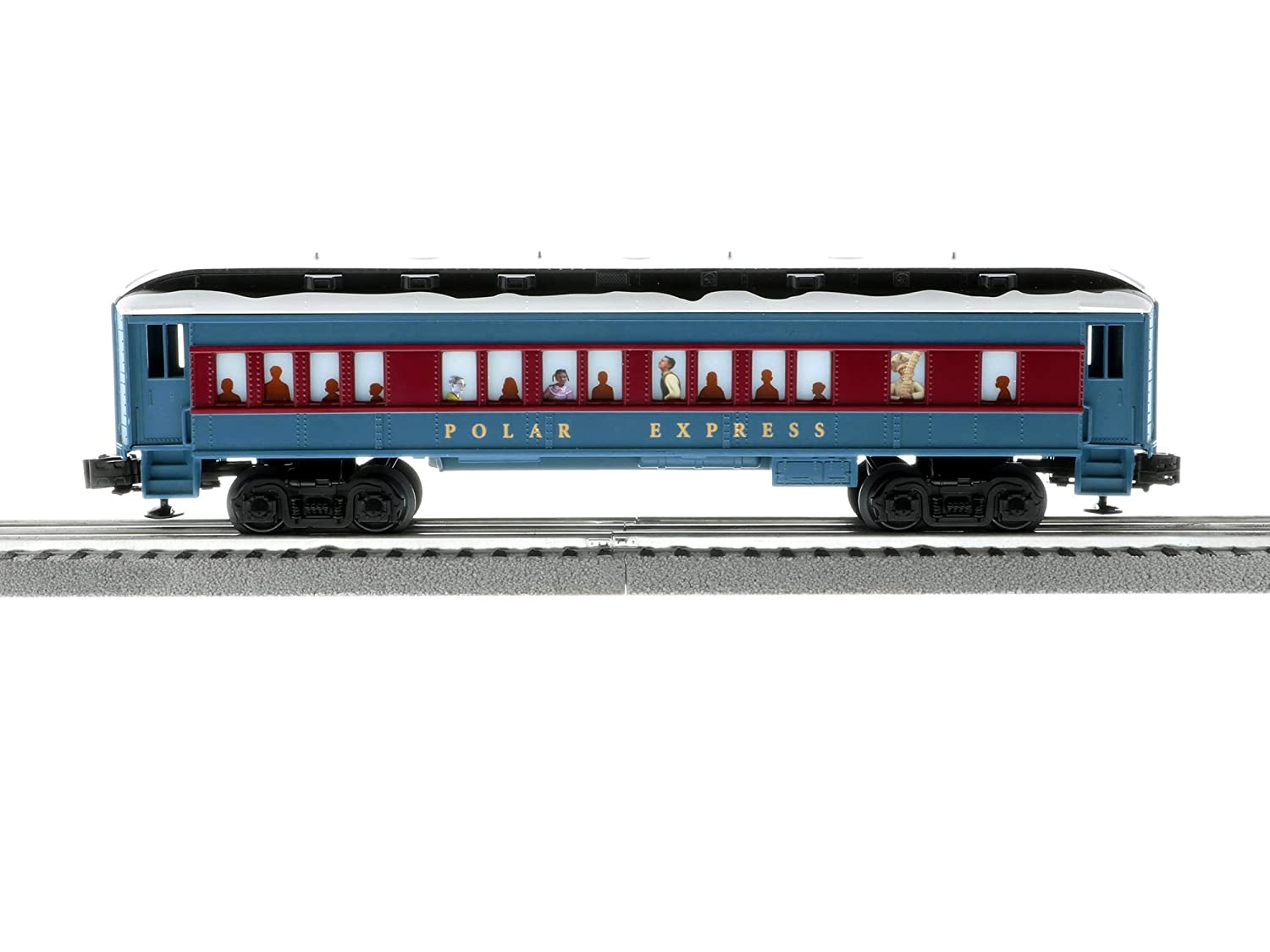 Lionel The Polar Express Electric O Gauge Model Train Set w// Remote and Bluetooth Capability