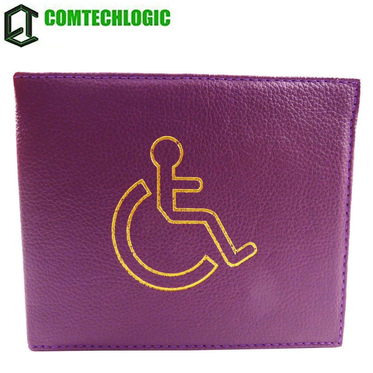 comtechlogic cm-4002 PU discapacitados Chapa cartera Parking ...