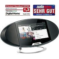 Orbsmart Soundpad 700 Android Internetradio 7-Zoll (17,8cm) Smart Display Hub | Webradio | Küchenradio | Büroradio (Octacore CPU, WLAN-ac, Bluetooth 4.0, Stereo-Lautsprecher, Spotify, YouTube, Skype)