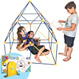 Fort Building Kit for Kids for Boys and Girls - 90 Pieces, Indoor Construction Set with Building Sticks, Connector…