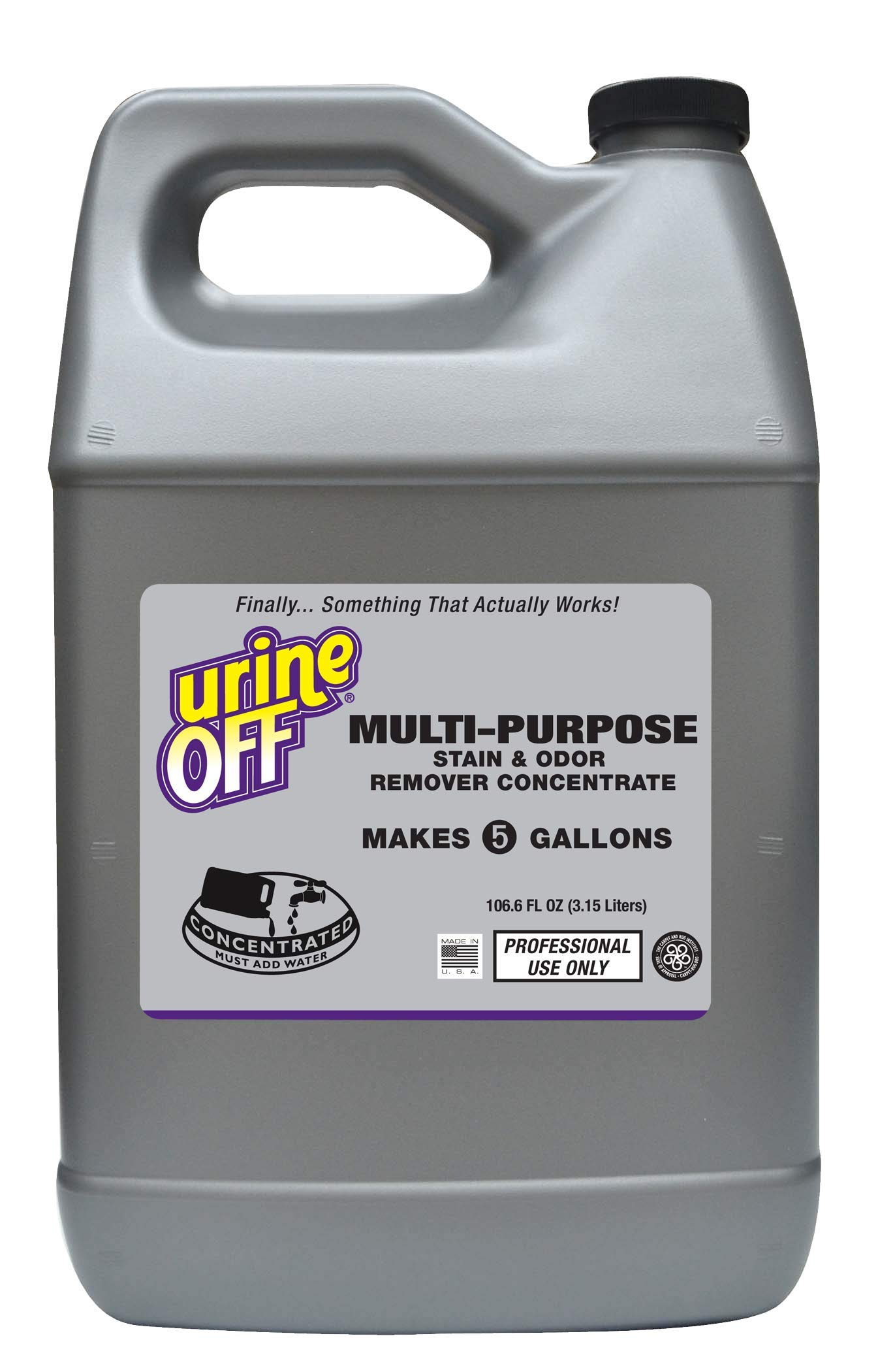 UrineOff Multi-Purpose Cleaner 1 Gallon Refill Concentrate Makes 5 Gallons by urineOFF