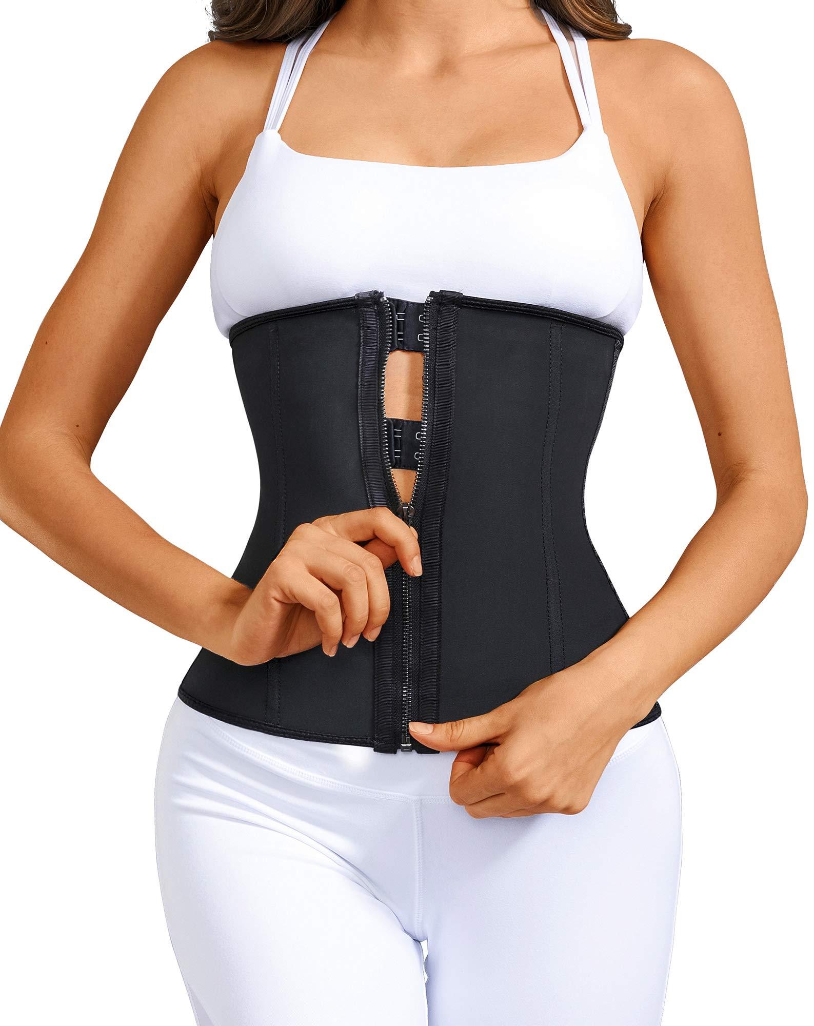 CINDYLOVER Women/'s Waist Trainer Corset Tummy Control Underbust Body Shaper