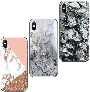 coque iphone 7 plus silicone marbre