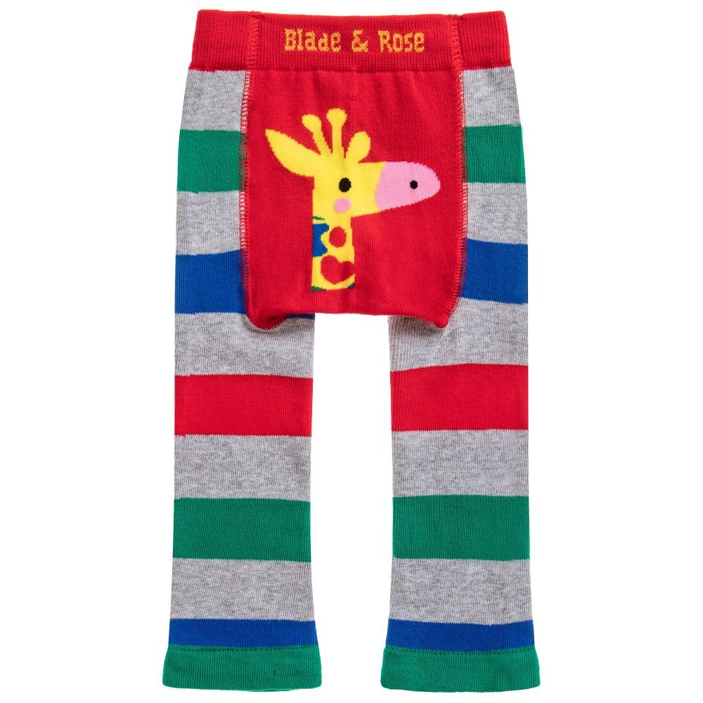 Blade and Rose Giraffe Leggings & Matching Socks 2 Pack.multicoloured
