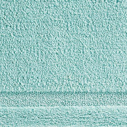 "InterDesign Microfiber Spa Bathroom Accent Rug, 34"" x 21'' Inches, Mint by InterDesign (Image #1)"