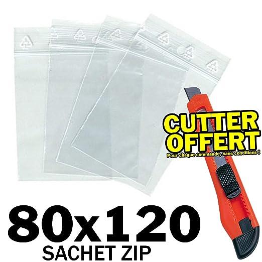 imballaggi2000 1000 Buste Bustine a Zip Minigrip Con Chiusura a Binario Misura 30X40