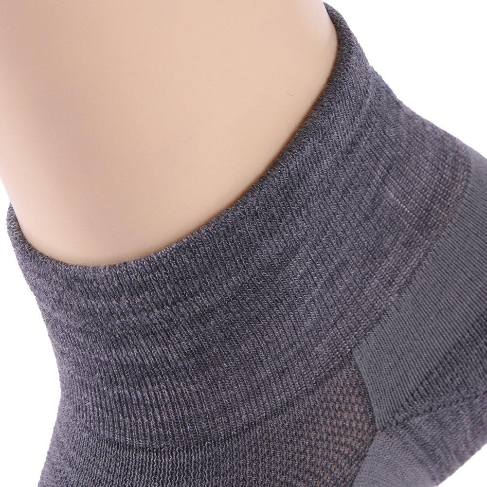 Running Socks, ZEALWOOD Meirno Wool Ultralight No Show Athletic Running Socks for Men and Women by ZEALWOOD (Image #8)