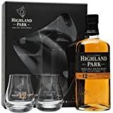 Highland Park 12 Year Old Single Malt Scotch Whisky with Glass Gift Pack, 70 cl