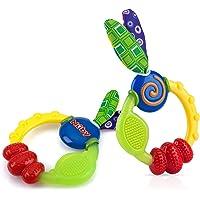 Nuby Wacky Teething Ring (2 Pack)