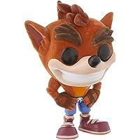 Funko FU25643 POP! Games: #273 Crash Bandicoot - Flocked Play Figure