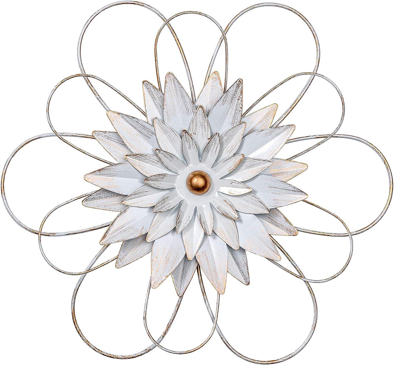 hogardeck Metal Flower Wall Decor - 13