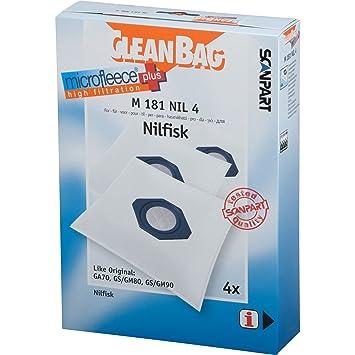 Cleanbag M 181 NIL 4 Universal Bolsa para el polvo ...