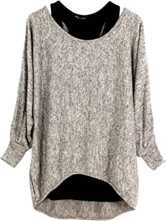 Emma & Giovanni - Oversize Pullover - Top (Made in Italy) - Mujer