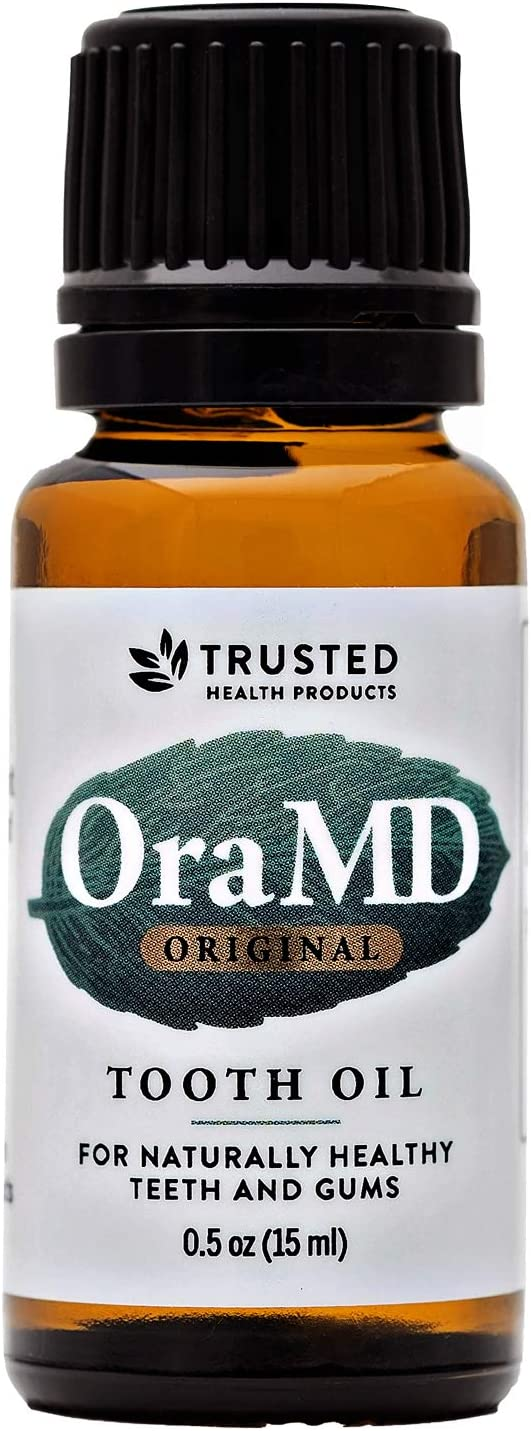 OraMD Original Dentist Recommended Worldwide 100% Pure Breath Freshener for Bad Breath, Halitosis Canker Sores, Gum Boils and Tooth Abscesses - 1 Bottle: Beauty