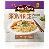 Annie Chun's Sprouted Brown Cooked Rice, Gluten-Free, Vegan, Low Fat, 6.3-oz (Pack of 6)