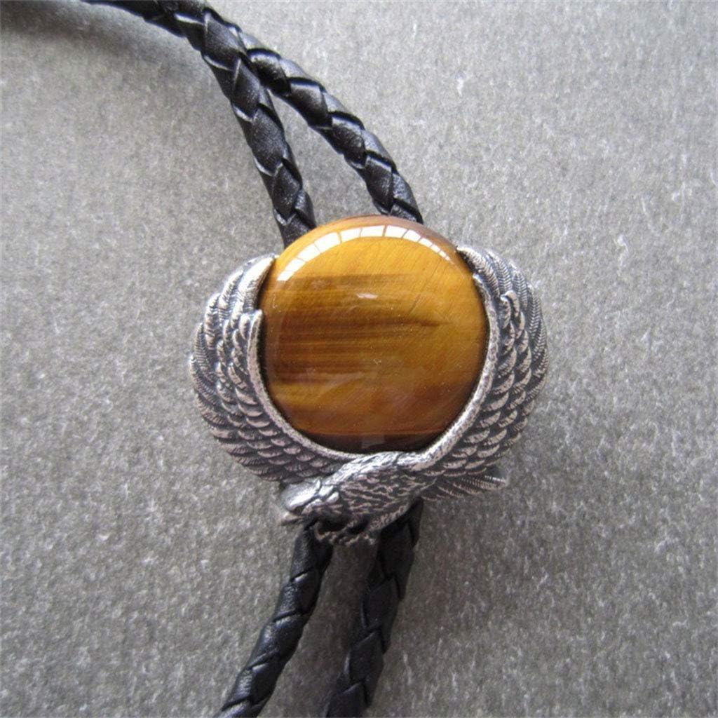 MXH Bañado en Plata Bolo Tie Inlay Eye Stone Polo Tie Bolo,1 ...