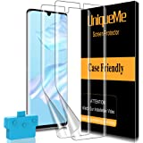 [2 Pack] UniqueMe TPU Soft Screen Protector Compatible For Huawei P30 Pro, [Anti-Scratch] [Bubble-Free Installation] [Self-He