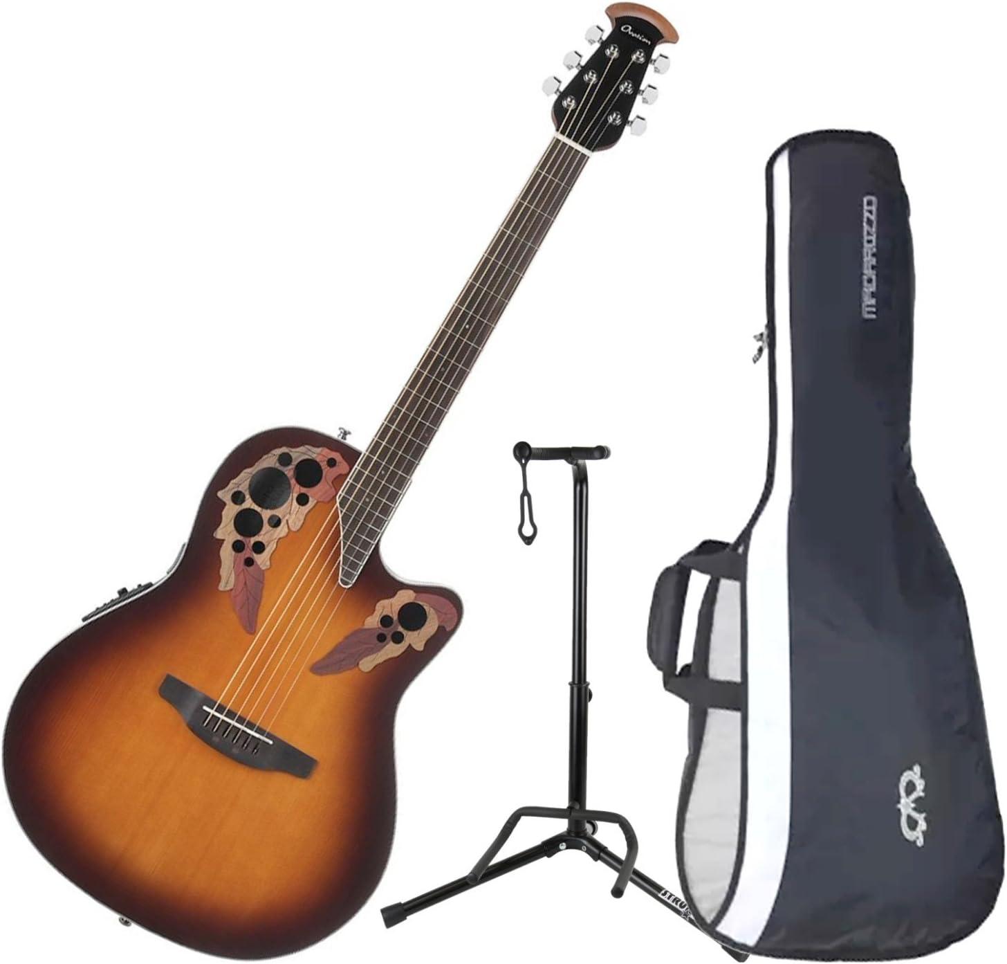 Ovation CE48 – 1 Celebrity Elite Super Shallow Sunburst guitarra ...