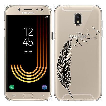 YSIMEE Carcasa Samsung Galaxy J5 2017 EU,Xmas Decoración ...