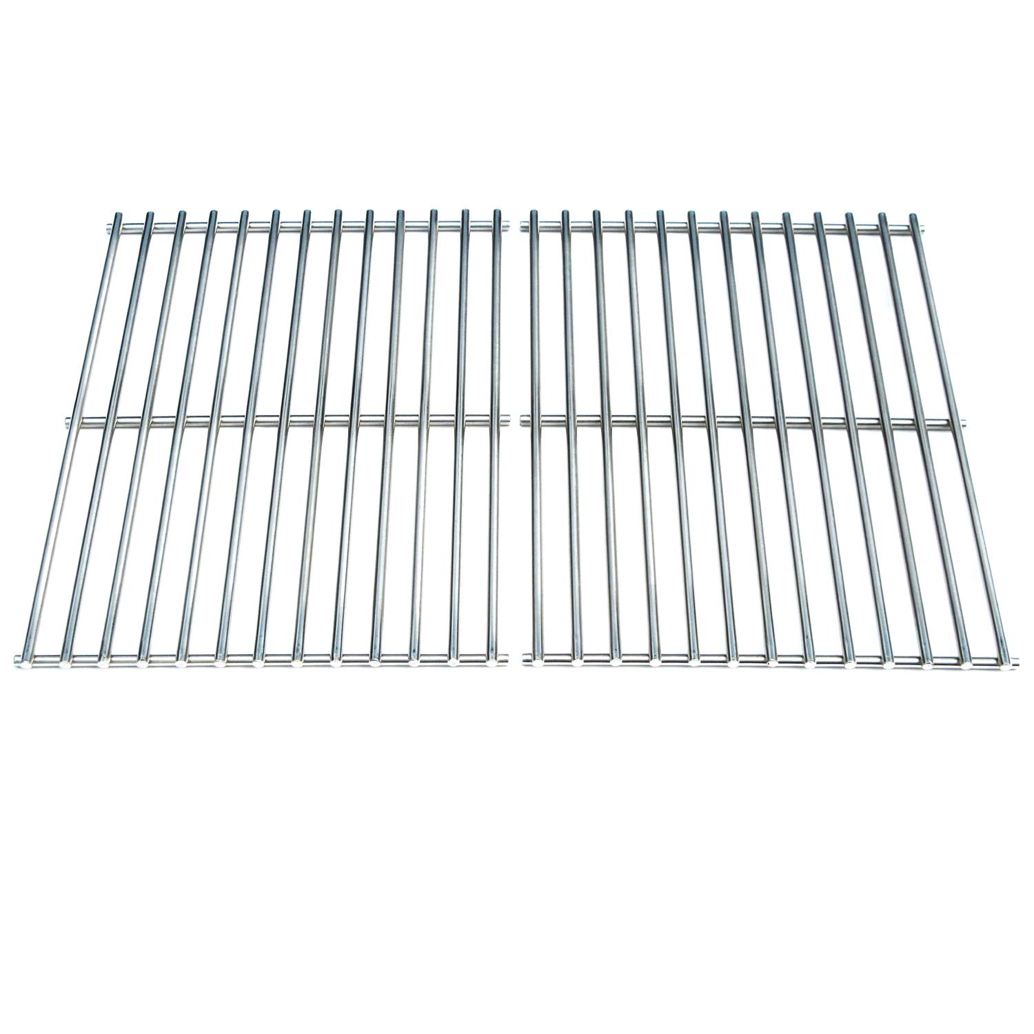 Direct Store Parts DS112 Solid Stainless Steel Cooking grids Replacement Weber BBQ Stainless Steel Cooking Grill Grid Grate 7521 7523 9855 (Aftermarket Parts)