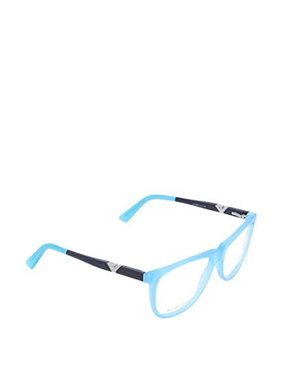 012eaf72462 Emporio Armani Women s 9844 Turquoise   Blue Frame Plastic Eyeglasses   Amazon.co.uk  Clothing