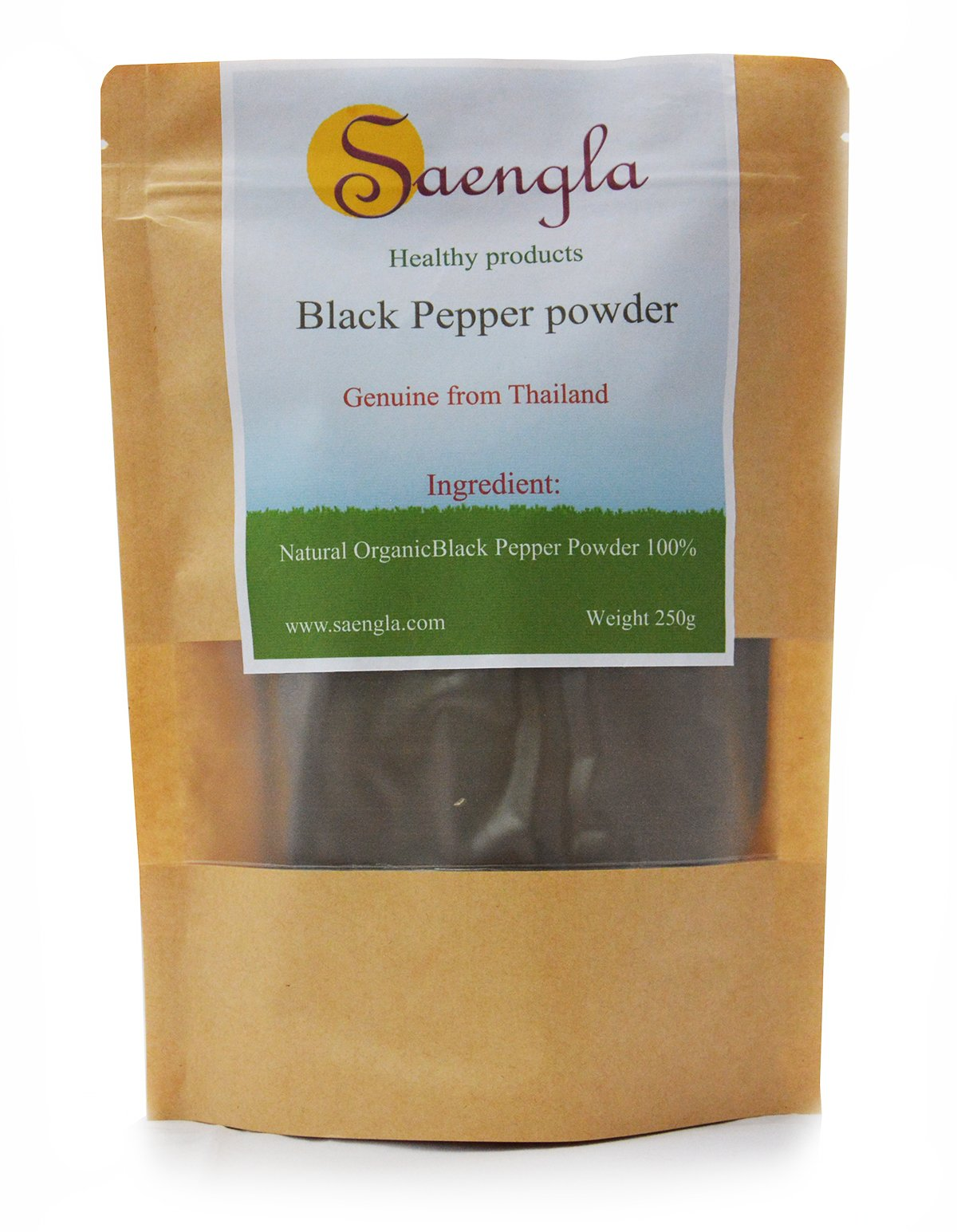 saengla Organic Black Pepper powder 250g