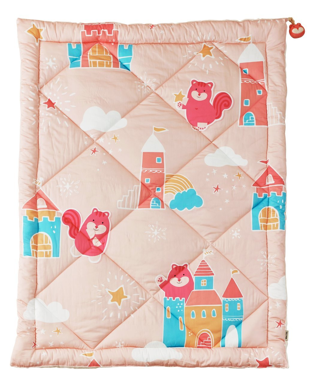Milo and Gabby Cozy Cotton Minky Twin Comforter - Castle Lucy