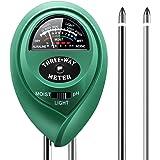 Growel SMM1 3-in-1 Soil Moisture, pH and Light Test Meter