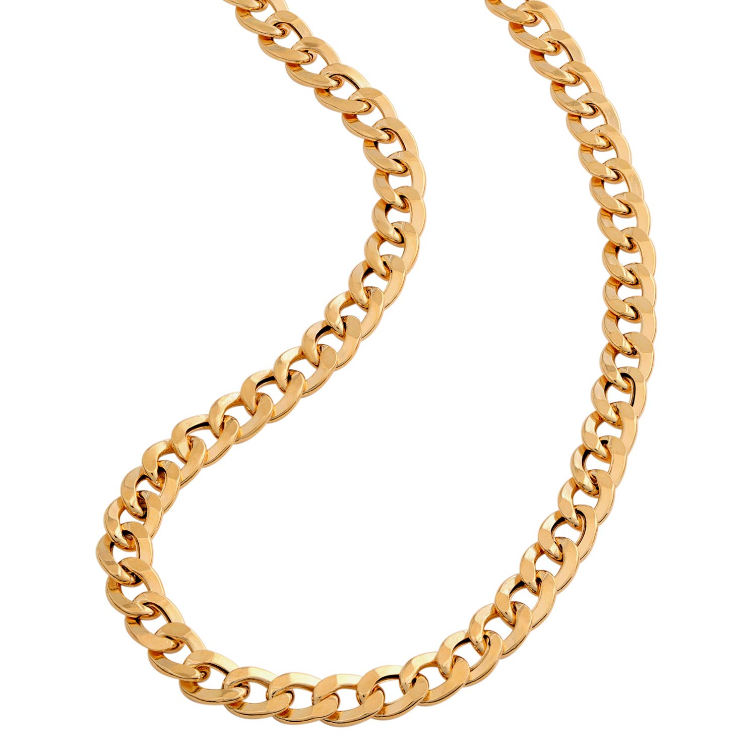 Italian Gold Chain >> Amazon Com Stauer 14k Italian Gold Grumetta Necklace Jewelry