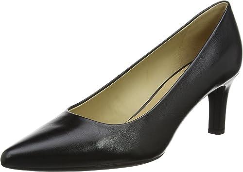 TALLA 36.5 EU. Geox D Bibbiana A, Zapatos de Tacón para Mujer