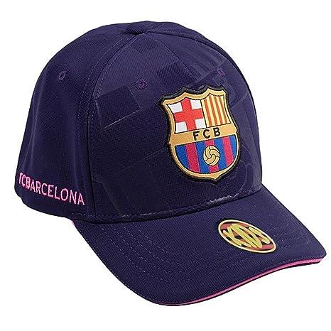 Gorra F.C. Barcelona Soccer Lila Primer Equipo [AB3461]: Amazon.es ...