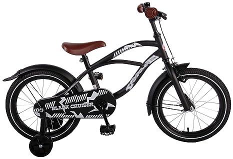 Bicicleta Niño 16 Pulgadas Black Cruiser con Ruedas Extraibles ...