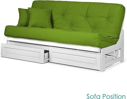 Amazon.com: Nirvana Futons Arden - Marco de futón sin brazos ...