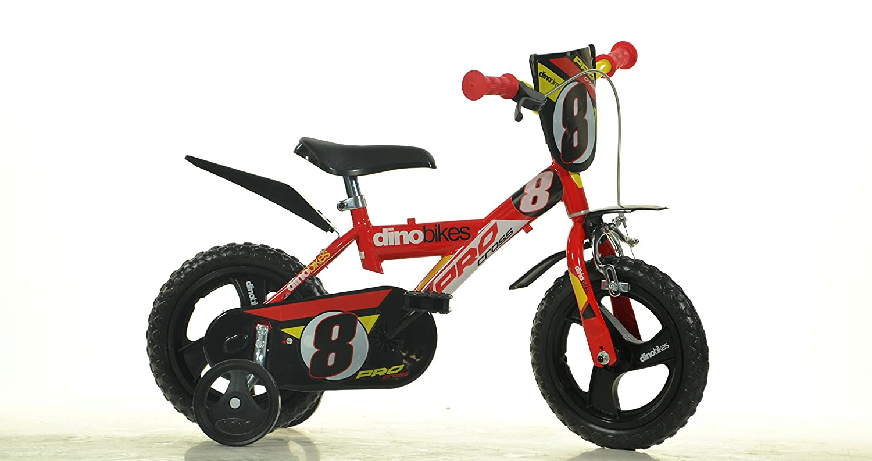 12 Zoll MTB 123GLN Kinderfahrrad Kinderrad Fahrrad Spielrad Dino