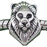 Charm Buddy Lion Africa Charms Bead Fit Silver Charm Bracelets Jewellery