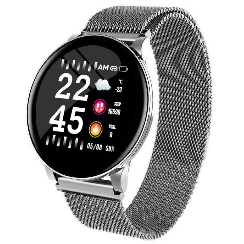 GYFKK Reloj Inteligente Pulsera De Presión Cardíaca Smartwatch ...