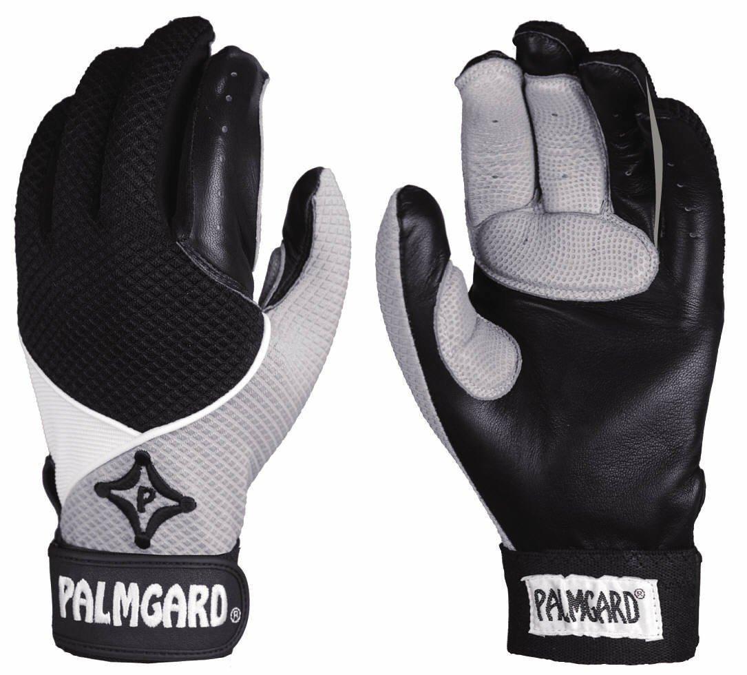 新しいキャッチャーの& Fielder 's inner-glove / Upper Palm、親指、インデックス& Middle Finger衝撃吸収クッション B00JW2XUZOAdult Large