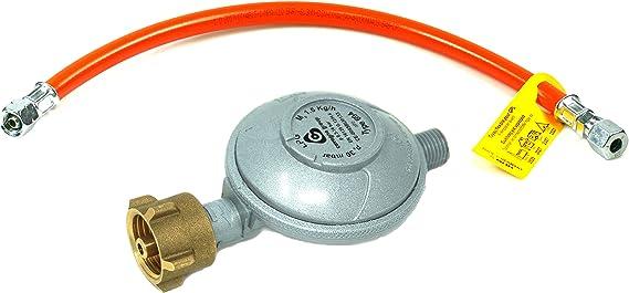 Rabenburg Regulador de presión de gas de 30 mbar, 1, 5 kg/h ...