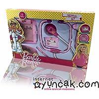 Barbie Temalı Kız Çocuk Eğitici Oyuncak Doktor Seti - Vardem