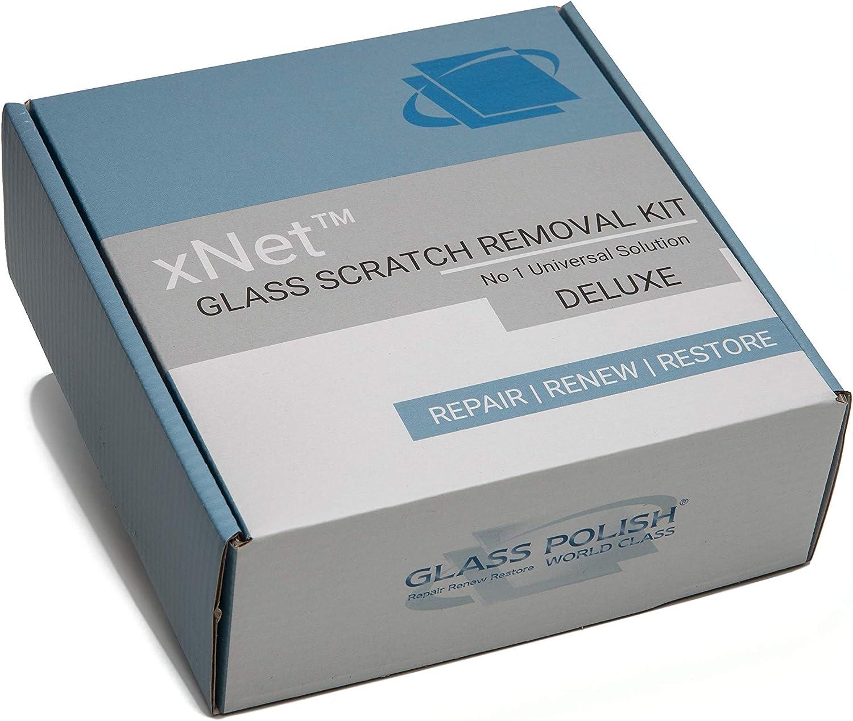 Glass Polish Gp28004 Diy Glas Kratzer Reparatur Kit Glas Kratzer Entferner Entfernt Kratzer Wasser Ablagerungen Schrammen Deluxe Auto