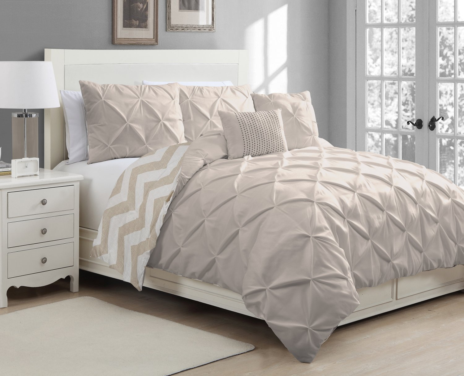 elm duvet set cover idea home regard west shams with white inside pintuck victoria apparel to pinched plan cotton organic